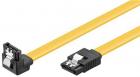 Cablu de date SATA 7p tata tata cotit 0 5m