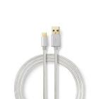 Cablu USB 3 0 Tip C tata 1m NEDIS