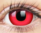 ColourVUE Crazy Lens 2 lentile Devil Red
