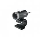 Camera web LifeCam Cinema 6CH 00002 720p HD 1280 x 720 Microfon Negru