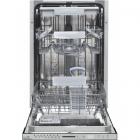 Masina de spalat vase HDW BI4583TA 10 seturi 8 programe Clasa A Argint