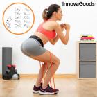Centura cu benzi de rezistenta pentru fitness ghid exercitii fizice