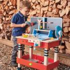 Set jucarii din lemn Atelier Micul tamplar 19 piese