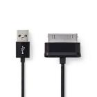 Cablu sincronizare si incarcare Samsung 30 pini tata USB A tata Nedis