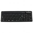 Tastatura silicon EK126K USB OTG 108 taste Flexibila Negru
