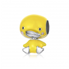 Talisman din argint Yellow Duck