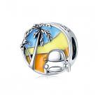 Talisman din argint Tropical Trip