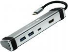 Canyon Multiport Universal USB Tip C 4 in 1 60W