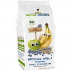 Musli cu Banane Mere si Afine Bio 200 grame