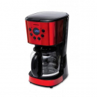 Cafetiera HCM 1500RDIX Morning Passion 900W 1 8 litri Rosu
