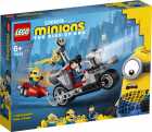 Jucarie Lego Minions Unstoppable Bike Chase