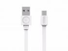 Cablu USB 2 0 USB C 1 5m alb Allocacoc