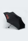 Umbrela pliabila cu imprimeu logo Glitter