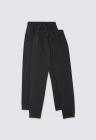 Set 2 perechi de pantaloni sport baieti cu snur de ajustare in talie
