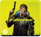 Mouse pad SteelSeries QcK Large Cyberpunk 2077