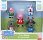 Set 5 figurine Peppa Pig Fancy Dress