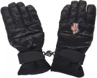 Padded Gloves In Black