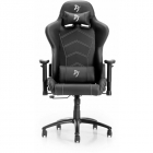 Scaun gaming Inizio PU Black Grey Logo
