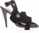 Venus Patent Leather Decollete In Black
