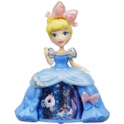 Mini Figurina Disney Princess Cenusareasa cu Rochita Rotativa