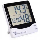 Termometru si Higrometru Digital 3 in 1 Ceas digital cu functie de ala