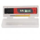 Tester PH PHT01 digital pentru lichide LCD Functie termometru Accesori