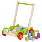Antemergator din lemn 20 de cuburi Ecotoys
