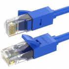 Cablu retea NW102 Ethernet Cat 6 mufat 2xRJ45 UTP Rounded lungime 15m