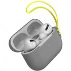 Husa De Protectie Silica Gel Pentru Airpods Pro Gri