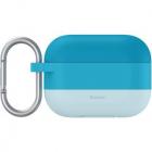Husa De Protectie Silicon Hook Pentru Airpods Pro Albastru