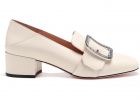 Janelle Crystal Pumps In Ivory Color