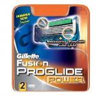 Rezerva aparat de ras Fusion Proglide Power 2 buc