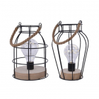 Decoratiune LED Filament Lantern Warm White