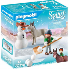 Playmobil Spirit IIIOm de zapada si copil4ani