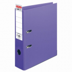 Biblioraft A4 80 mm Herlitz violet