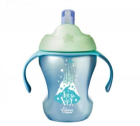 Tommee Tippee Cana Easy Drink cu pai 230ml castel blue