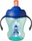 Tommee Tippee Cana First Drink cu pai 230ml racheta albastra