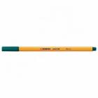 Liner Stabilo Point 88 varf de 0 4 mm verde inchi set de 5 bucati