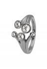 Inel din argint 925 decorat cu pietre topaz