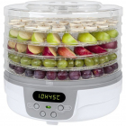 Deshidrator de fructe legume si ciuperci TSA3031 250W 5 kg Alb Gri