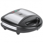 Sandwich maker TSA3221 3 in 1 Ceramic 800W Argintiu Negru