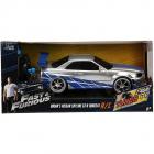 Masina Fast and Furious Nissan Skyline GTR 1 24 cu telecomanda