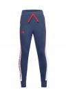 Pantaloni sport conici cu snur in talie pentru fitness Rival