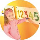 Aplicatie de perete Numere 6 9