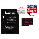 Card microSDHC 32GB 80 Mbs UHS I U3 cu adaptor SD