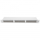 Patch Panel 19 inch 24 porturi Grey