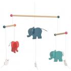 Elefanti decoratie mobila lemn