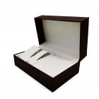 Cutie pentru Ceasuri si Bijuterii Neagra Maro CF PU108
