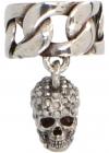 Earcuff Skull In Silver Finish 650461J160Y1915