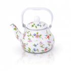 Ceainic emailat 2 Litri flori